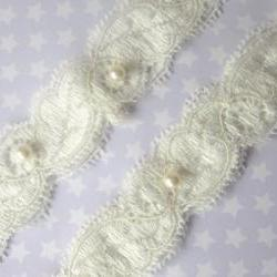 Garter - Simply Pearls Bridal Garter Set
